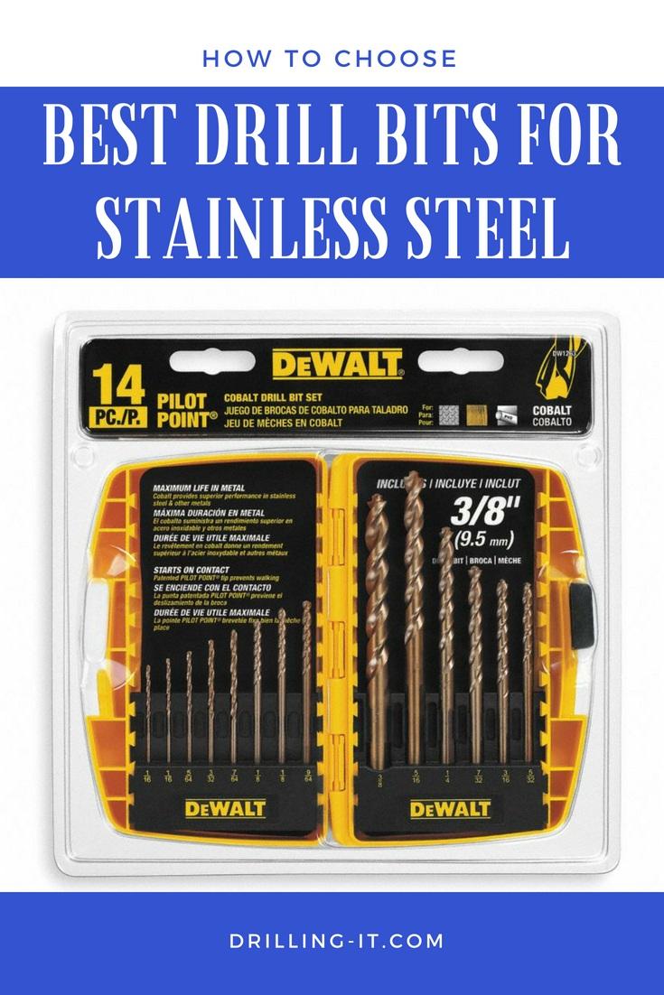 Irwin Dewalt 4.5mm HSS Cobalt steel drill bit metal plastic stainless