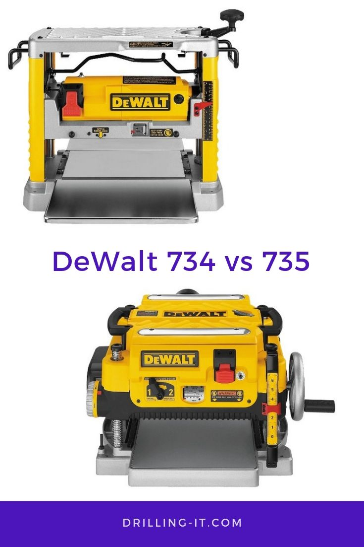 Dewalt 734 Vs 735 Which One S Best Products Comparison